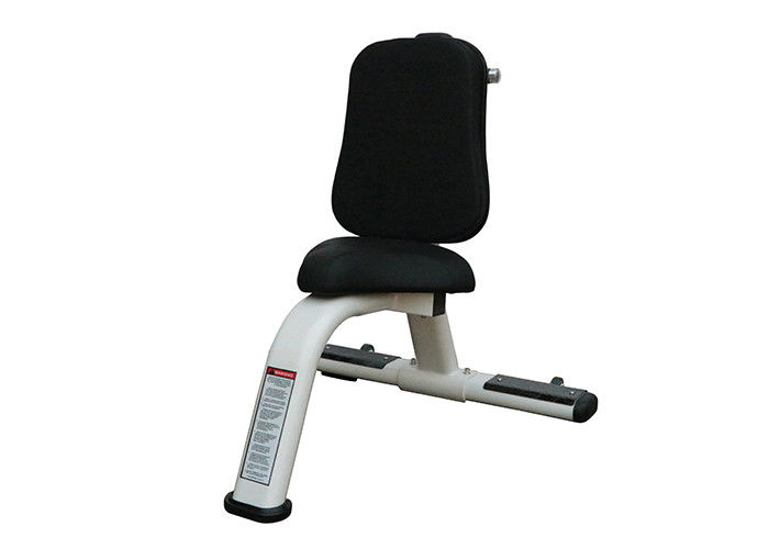 Safety Gym Rack And Bench , Structural Frame Weight Utility Exercise Bench